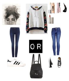"""""""Untitled #73"""" by skinnylove777 ❤ liked on Polyvore featuring 2LUV, Calvin Klein, adidas, Converse, rag & bone, Clinique, Too Faced Cosmetics, NYX and Ilia"""