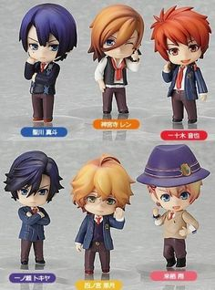 Uta no Prince-sama: Maji Love 1000% Nendoroid Petite Set of 8: Amazon.ca: Toys & Games