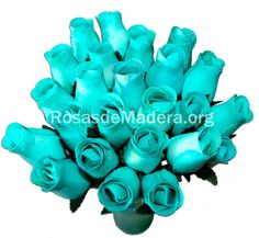 Rosa azul celeste Blue Nails, Wooden Flowers, Bouquet Wedding, Home Decorations, Bouquets, Colors