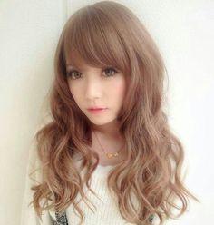 Beautiful girl, beautiful hair