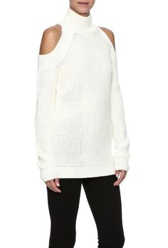 Cold-Shoulder Sweaters Are a Trend This Fall, and I Feel Weird About It | StyleCaster