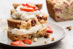 Strawberry Shortcake Banana Bread