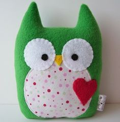 Owl. Crafts for little girls
