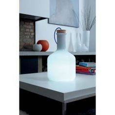 £150 Contemporary Lighting :: Table Lighting :: Authentics - Cylinder Table Light -