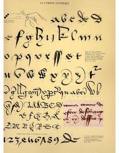 Calligraphie claude mediavilla ductus by Ruben Fernando Olea Ramirez