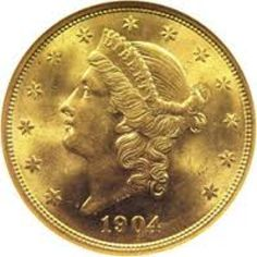 1904   Liberty Gold Coin