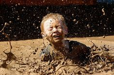 I miss those days when everybody loved to get dirty and have fun playing in the mud.