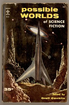 Possible Worlds of Science Fiction 1955 With Stories by Bradbury Asimov Berryman Simak etc. Edited by Groff Conklin  by ProfessorBooknoodle, $11.50