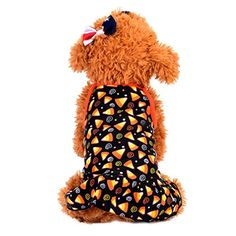 2017 New Pet Dress,Elevin(TM)Spring Summer Small Puppy Dog Cat Sleeveless Cute Colorful Short Skirt Vest Tshirt Dress Pet Supplies Clothes Apparel Outwear Costume (M, Black) >>> More info could be found at the image url.