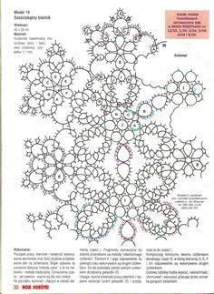 Схема салфетки от Яна Ставаша