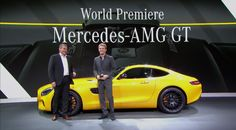 Mercedes-AMG GT Launch With Nico Rosberg (VIDEO)