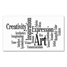 Art and Inspiration Business Card for Creative Pro. This is a fully customizable business card and available on several paper types for your needs. You can upload your own image or use the image as is. Just click this template to get started!