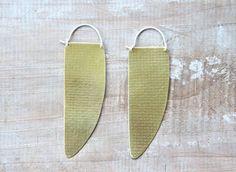 Spartan- Sakara earrings by Fay Andrada $98