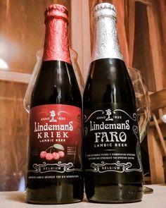 Lindemans – Kriek i Faro Lambic Beer, Farmhouse Ale, Craft Beer, Beer Bottle, Rustic, Drinks, Instagram Posts, Crafts, Beverages