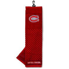Team Golf Montreal Canadiens Embroidered Towel, Multicolor