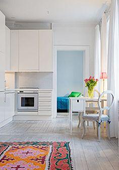 white washed wood floors