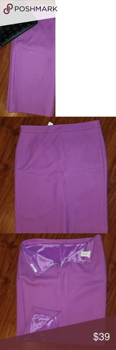 J Crew #2 Pencil Skirt Lilac/Purple US 12 J Crew #2 Pencil Skirt Lilac/Purple US 12 j crew Skirts Pencil