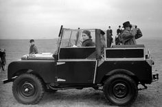 badan Nigeria in 1956. inspecting troops of the Royal Sierra Leone Regiment from an open Land Rover in 1961. crowd in Tobruk Libya in 1954. Australia in 1954. Isles of Scilly 1967. a youth rally in Lagos Nigeria in 1956. Gloucestershire for the Badminton Horse Trials in 1956. Fiji during their royal tour in 1977. kateoplis: Queen Elizabeths Land Rover Defenders[RIP]