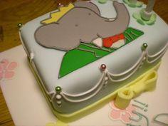 Babar Birthday Cake omg