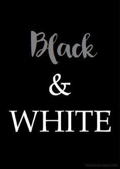 Black And White, Logos, Staging, Black N White, Black White, Logo