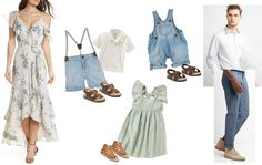 Family color & outfit inspiration
