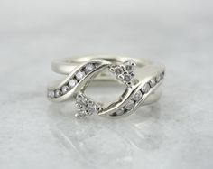 Hinged Engagement Ring Enhancer Wrap Guard Jacket by MSJewelers, $1485.00