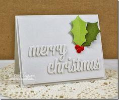 Christmas Greetings Die-namics; Jumbo Christmas Stocking Die-namics; Blueprints 6 Die-namics - Barbara Anders