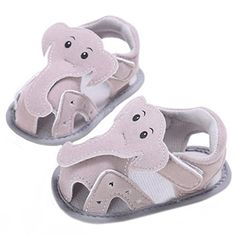 Kenvenz Baby Sandals Summer Girl Boys Soft Sole Crib Toddler Elephant Pattern Newborn Shoes 1218 M Gray >>> Check out the image by visiting the link.(It is Amazon affiliate link) #followall