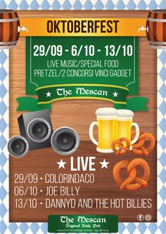Oktoberfest al The Mescan Original Irish Pub