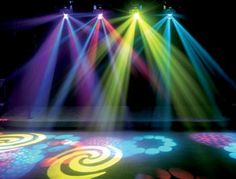 Disco party lights..
