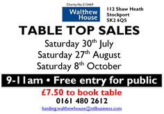 Table Top sales Stockport.