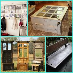 12 Creative Ways on How to Repurpose Old Doors | AllHome