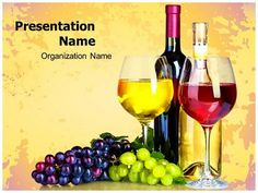 9 best wine powerpoint templates images on pinterest ppt template