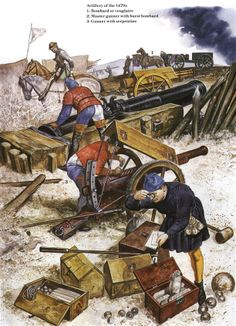 Armies of Medieval Burgundy 1364–1477 - Artillery of the 1470s Osprey Publishing
