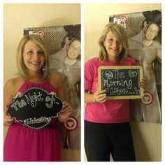 Bachelorette before and after photos :)