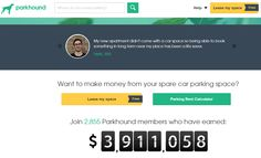 Park Hound How to make extra money from property. Neomoney.