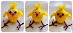 Мастер-класс: цыпленок Кроха крючком - Ярмарка Мастеров - ручная работа, handmade