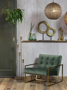Inspiring lighting, furniture, home accessories and interior decorations Art Deco Living Room, Art Deco Bedroom, Living Room Green, Green Rooms, Home Living Room, Bedroom Decor, Kids Bedroom, Wall Decor, Living Room Lighting