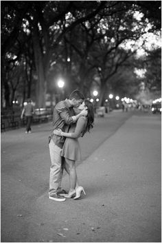 New York City engagement session- Abby Grace Photography