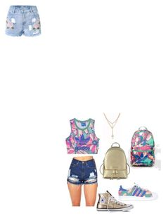 """""""Untitled #39"""" by nuraypva on Polyvore featuring adidas Originals, Converse, adidas and Michael Kors"""