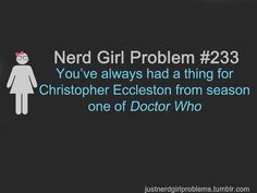 This is kinda a pile of wrong. Christopher eccleston was the ninth doctor. NINTH doctor. Its kinda not season one of doctor who.