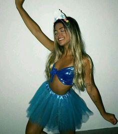 Mermaid Halloween Costumes, Cute Costumes, Couple Halloween, Halloween Outfits, Halloween 2017, Fantasia Disney, Fancy Dress, Dress Up, Costume Ideas