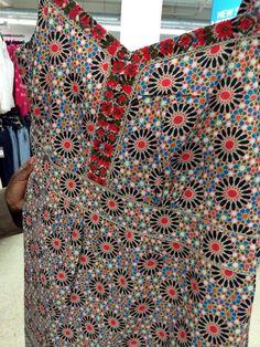 Dress from Sainsbury's Tu range Islamic geometric design fashion
