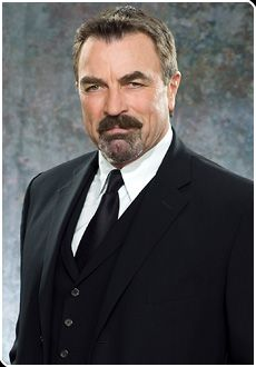 Tom Selleck I was a background actor on Las Vegas and he had to push past me and we had a conversation about his issues of walking through background actors who were actually acting. lol.