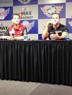 Spencer Massey & Matt Hagan @ the 4-Wide Nationals