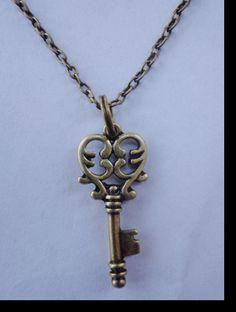 Vintage Skeleton Key Necklace $5.99