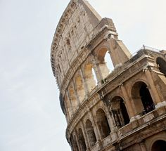 "mostlyitaly: "" Colosseum Facade by Felix van de Gein on Flickr. """