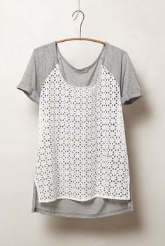 laced indi pullover / anthropologie