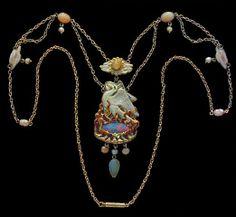 James Cromar Watt, The Phoenix: A Superb Arts and Crafts Necklace