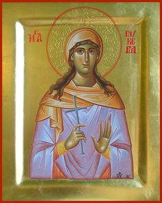 St. Glyceria the martyr of Heraclea, Thrace / Αγία Γλυκερία